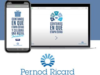 Pernod Ricard - Scratchcard