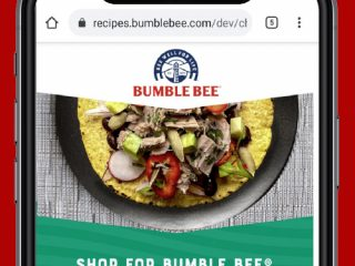 BUMBLE BEE In-Store Activation